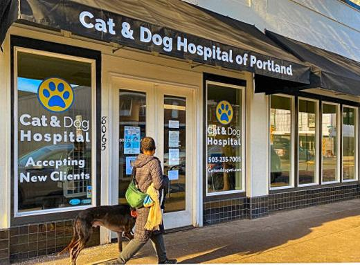 It�s a new name and signage for Sellwood�s once feline-only veterinary clinic on S.E. 13th Avenue � which is now accepting canine patients, too.