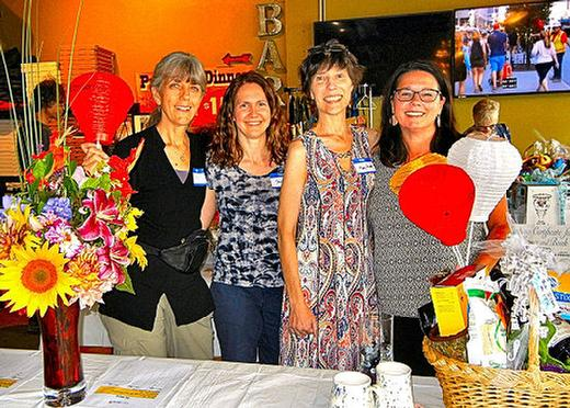 Leukemia and Lymphoma Societ, Pizza Roma, Woodstock neighborhood, Patty Bauer, Stacy Owen, Mary Rower, Kristi Lopakka.
