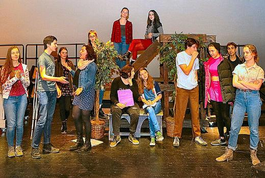 Cleveland High, drama, Shakespeare, Much Ado About Nothing, Southeast, Portland, Oregon